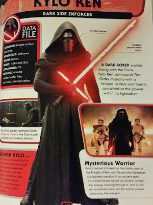 DK Character Encyclopedia Kylo Ren page Missing Supreme Leader Snoke page mention above