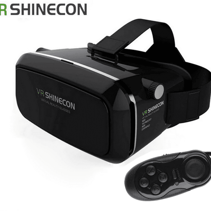 7e3885e64 فتح علبة ومراجعة نظارات الواقع الإفتراضي VR SHINECON 3D VR Glasses ...