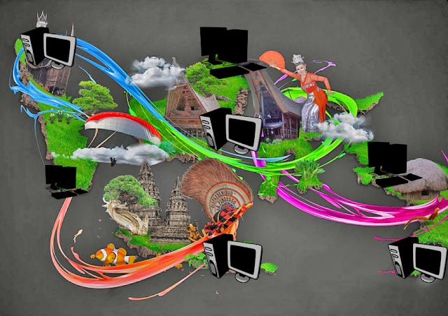 Kemajuan teknologi membuat Pergeseran Budaya secara perlahan-lahan bergerak ke arah negatif