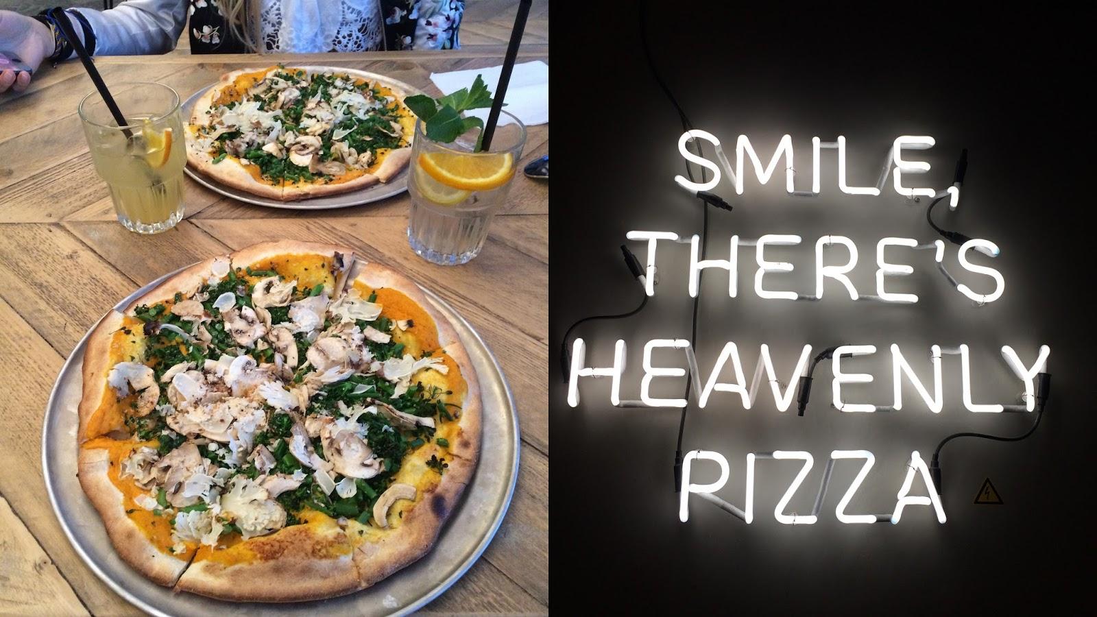 whiskers & lions Otomat Antwerpen vegan pizza