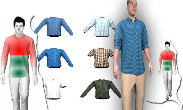 مع هذا التطبيق، انظر كيف ستبدو الملابس عليك قبل شراء