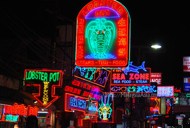 Pattaya Walking Street Picture