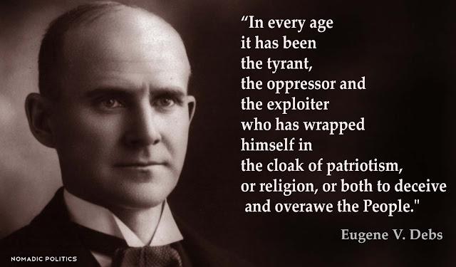 Eugene Debs Tyrant Quote