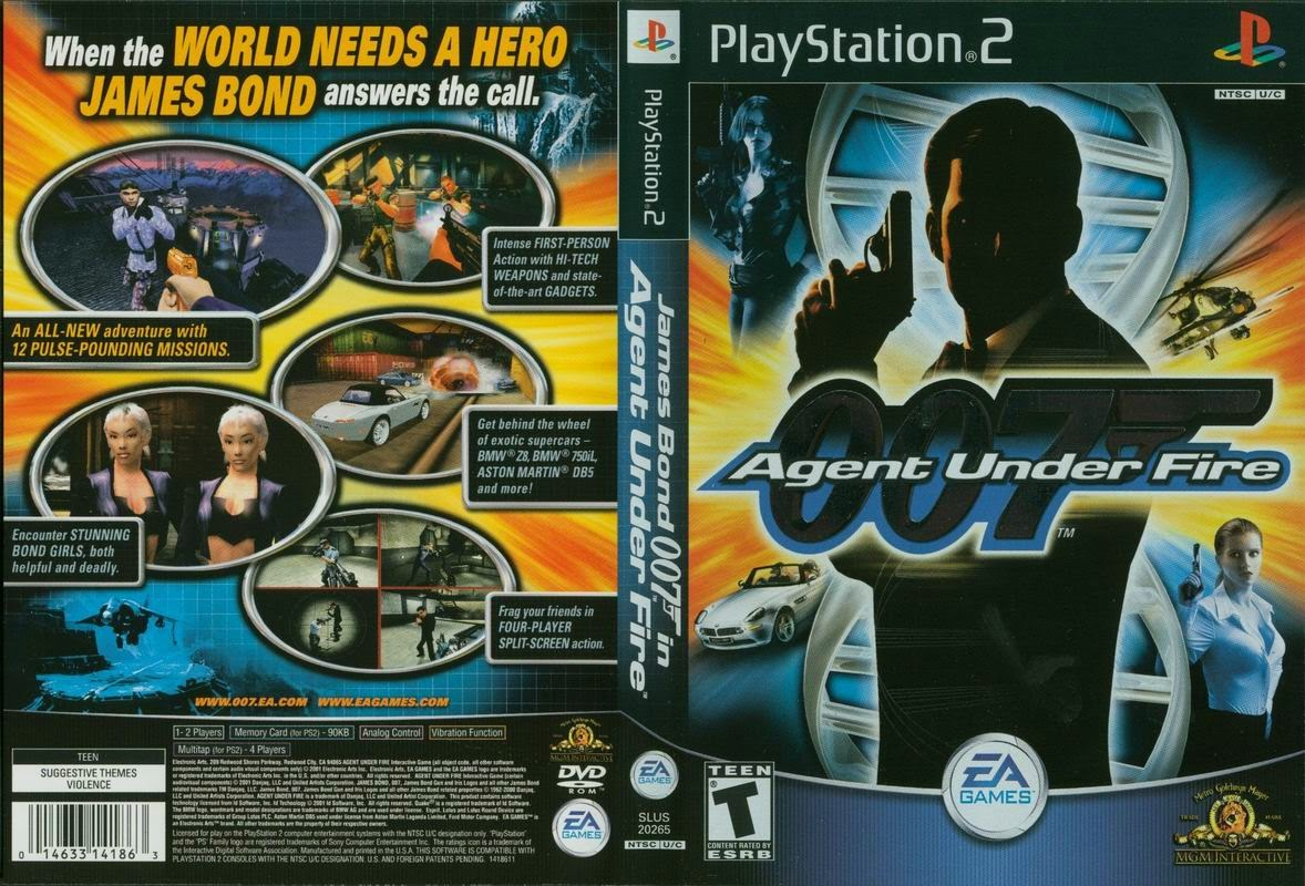 Download 007 Agent Under Fire Iso