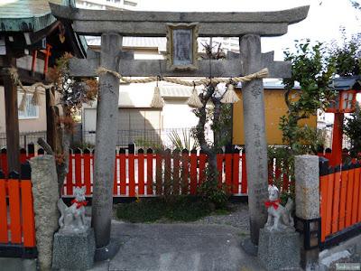 三郷橋稲荷神社鳥居