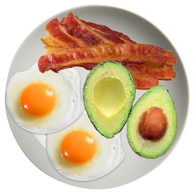 Eggs, Bacon and Avo