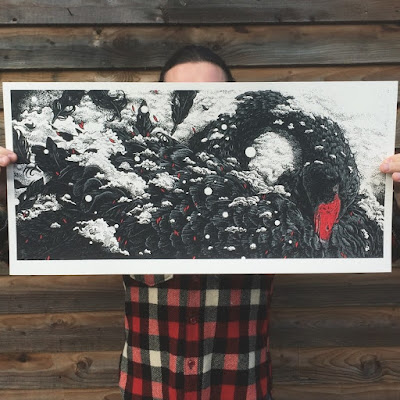 """Crisis"" Screen Print by Richey Beckett"