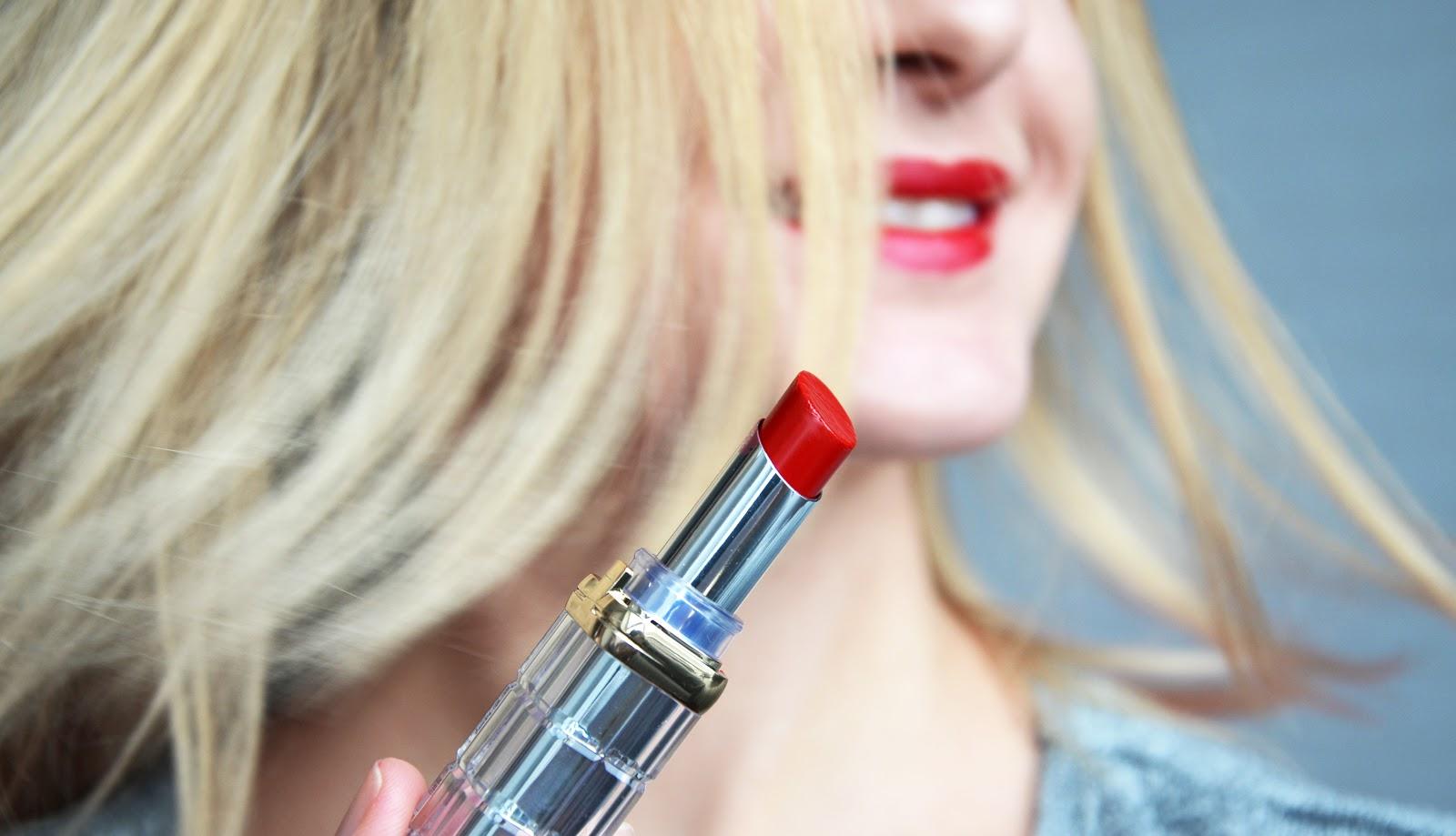 обзор помад Color Riche Shine от L'Oréal