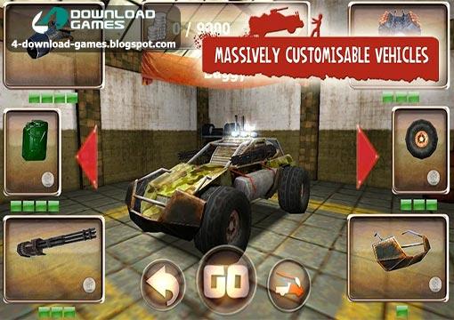 تحميل لعبة ديربي دهس الزومبي Zombie Derby for Android