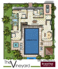 400 Sq Meter House Plans | Amazing House Plans
