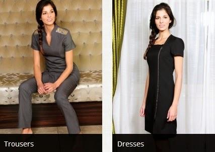 salon uniforms, beauty uniforms