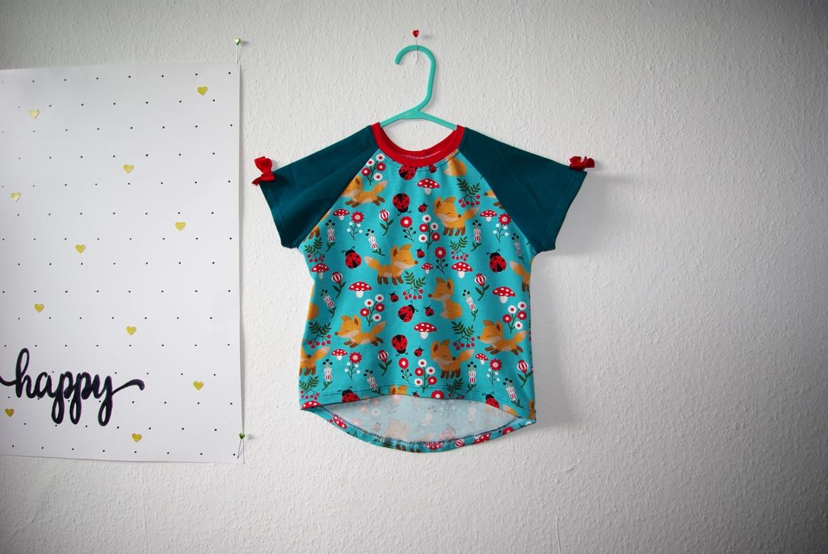 Bethioua Mini von Ellepuls T-Shirt für Kinder Freebook selber nähen