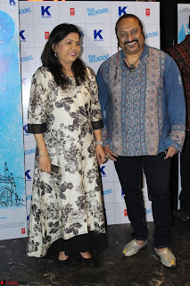 Gracy Singh and Bappi Lahiri   Blue Mountain Music Launch IMG 0738.JPG