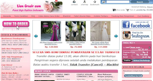 Supplier Baju Muslim Tangan Pertama Murah Berkualitas