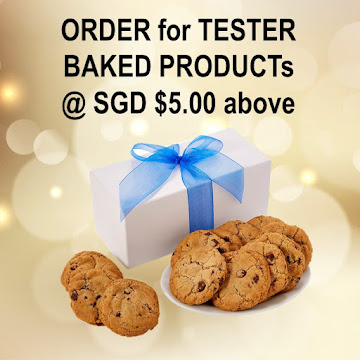 TRY OUR TESTER BAKED PRODUCTs