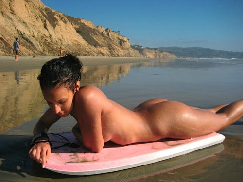 Stunning Naked Sunbather 52