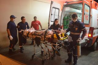 Duas pessoas são atropeladas por moto na PB 400, no interior da Paraíba
