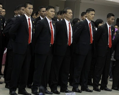 Indonesia's elite Presidential Security Forces