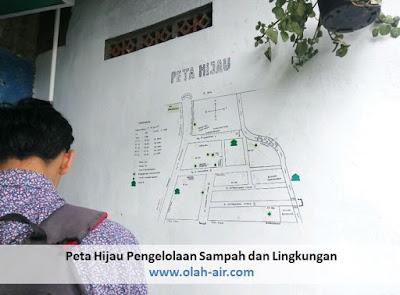 Cara Mengolah Sampah untuk proses biogas di Peta hijau