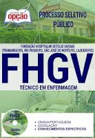Apostila Concurso FHGV 2017 Técnico de Enfermagerm
