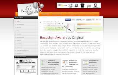 Screenshot Besucher Award