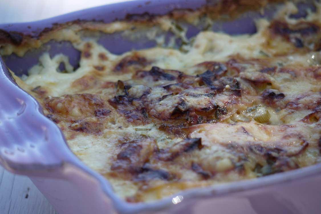 potatisgratäng med creme fraiche och mjölk