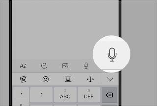 Fungsi perekaman di antarmuka pengeditan membantu Anda untuk merekam pesan ketika masukan Notes / Catatan Di Handphone Vivo Sekedar Sharing