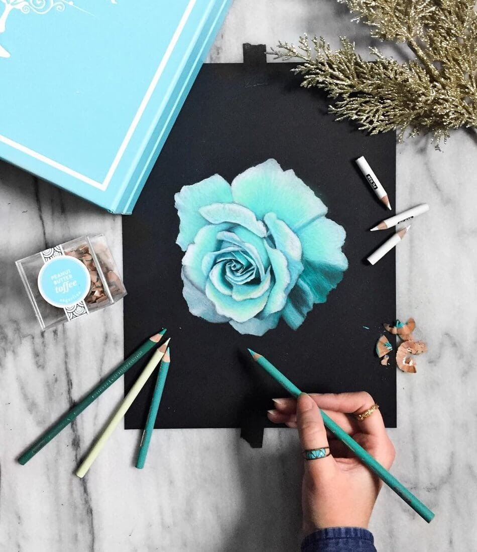 05-Turquoise-Rose-Safanah-Eclectic-Mixture-of-Realistic-Drawings-www-designstack-co