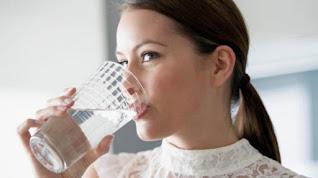 Jarang minum air putih