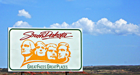 south dakota state sign