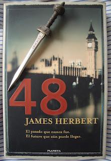 Portada del libro 48, de James Herbert