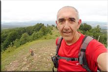 Zalbizkar mendiaren gailurra 1.046 m. -- 2018ko uztailaren 21ean