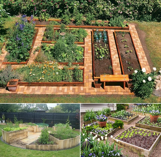 100 Most Creative Gardening Design Ideas 2018: Creative DIY Ideas To Build A U-Shaped Raised Garden Bed