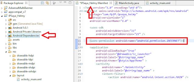 Menampilkan NIC pada Pemrograman Android