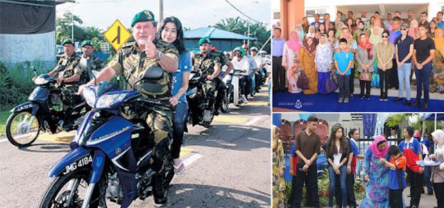 Tunku Aminah berpengalaman meyertai Kembara Mahkota Johor