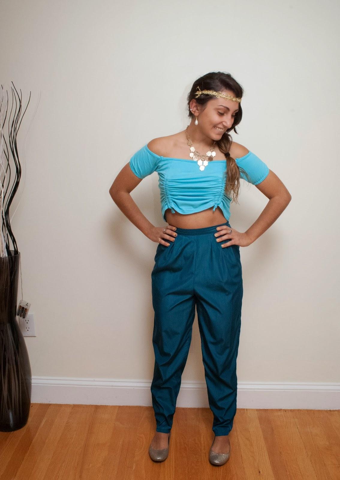 Halloween Costume Ideas Week 2 Of 4 Good Better Dressed  sc 1 st  Meningrey & Princess Jasmine Diy Costume - Meningrey