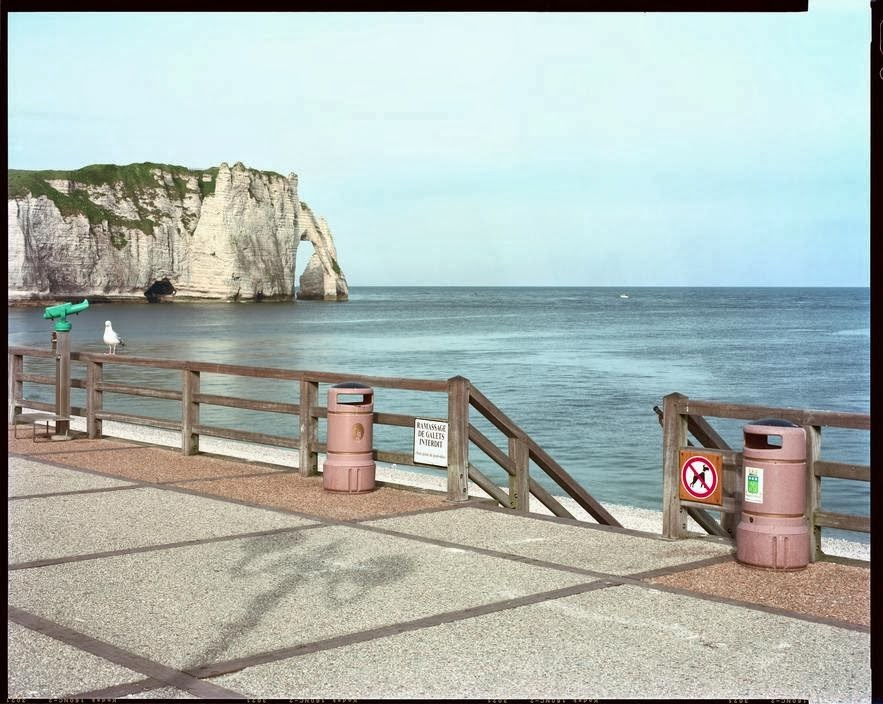 Raymond Depardon, Etretat, Normandy, France