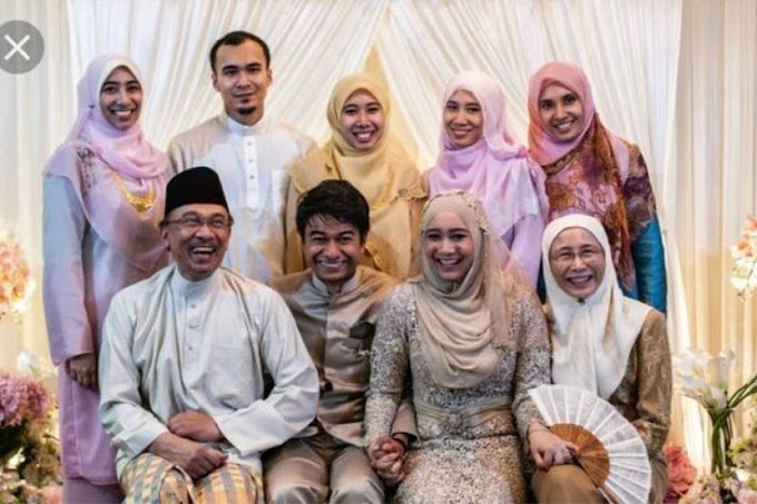 Ingatkan Nurul Izzah Yang Kahwin,Rupanya....