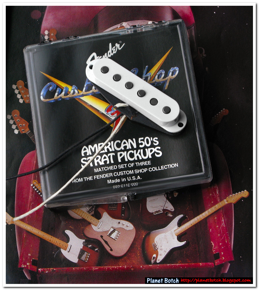 Fender Custom Shop American '50s Strat Pickups | Planet Botch