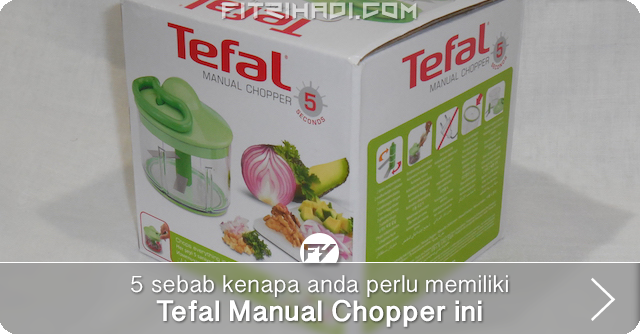 review tefal manual chopper