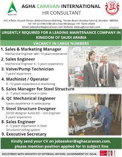 Maintenance Company job