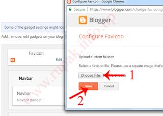 How To Add Custom Favicon in Blogger?