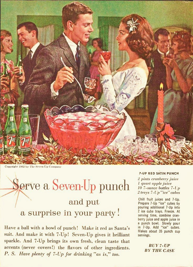 Farm Girl Pink    : ~ Holiday Cocktails    Seven-Up Punch