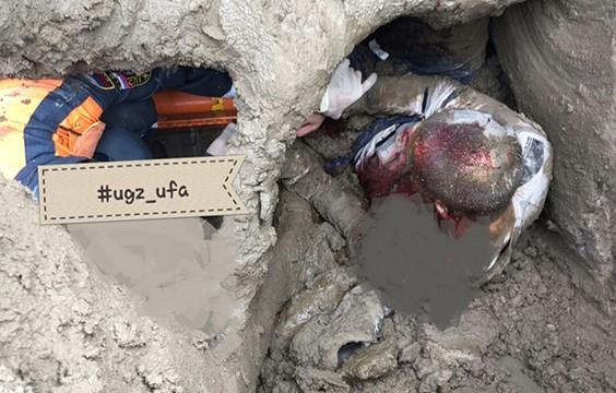 В Уфе в бетономешалку упал строитель