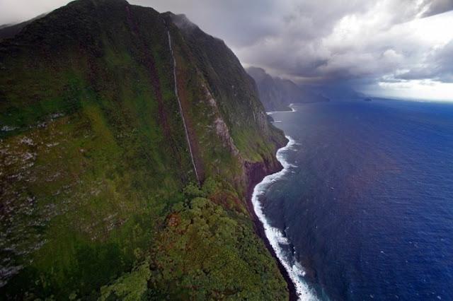 Berkuda di Molokai, Hawaii