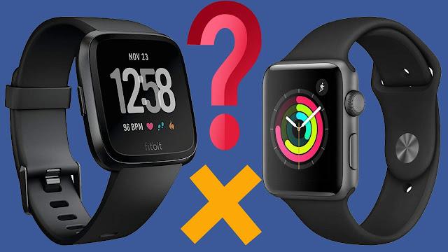 d1e71a6ed مقارنة بين ساعة Fitbit Versa و ساعة Apple Watch و أي ساعة يجب عليك شراء؟