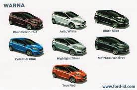 warna mobil ford everest, pilihan warna mobil ford, mobil suv everest