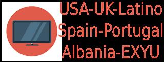 USA UK Latino Spain Portugal Albania Exyu