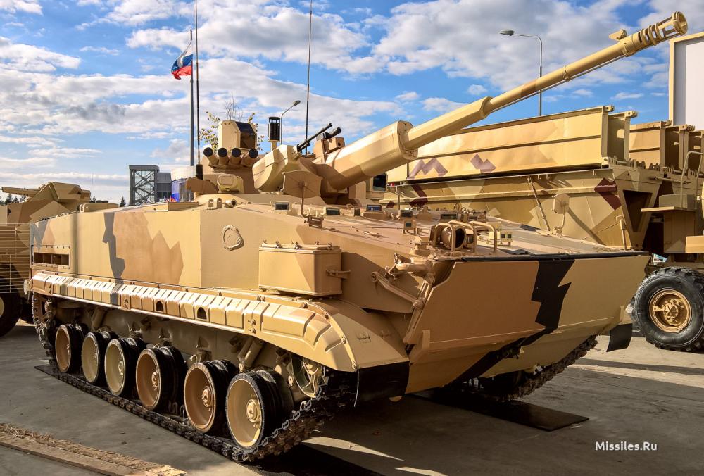 БРМ-3К з 57-мм автоматизованим дистанційним артилерійським модулем АУ-220М Байкал