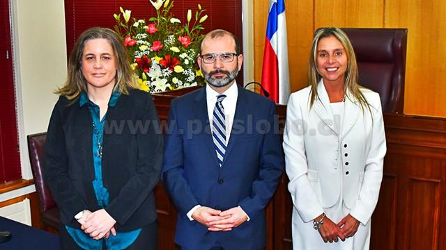 Carmen Wittwer, Claudio Pizarro, María Angélica de Miguel